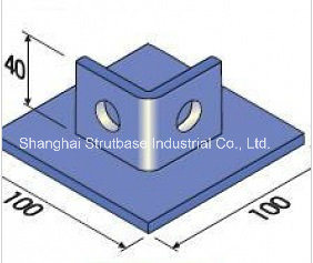 Channel Floor Plate Base / Corner Bracket pictures & photos
