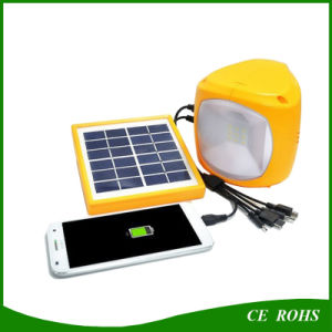 Solar Emergency Lighting Hiking Camping Light with USB Port for Mobile Charging pictures & photos