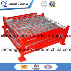Most Popular Heavy Duty Qualified China Stackable and Foldable Pallet Box pictures & photos