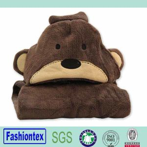 Kids Hooded Towel Pattern Blankets Animated Baby Bathrobe pictures & photos