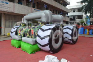 Army Tank Monster Truck Jumping Castle Bouncer (CHB220) pictures & photos