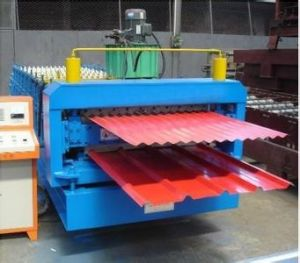 Color Steel Sheet Roof Tile Double Layer Roll Forming Machine pictures & photos