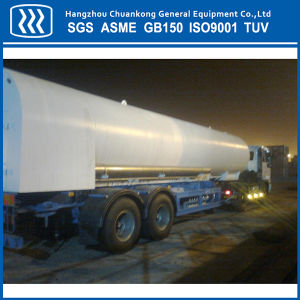Lo2 Ln2 Lar Lco2 Transport Tanker LNG Semi Trailer Tanker pictures & photos