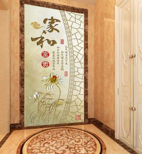 Factory Price Custom Printable PVC Wall Paper pictures & photos