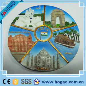 Resin Scenery Plate Beautiful Indian Place pictures & photos