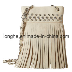 Fashion Fringe&Clear Crystal Crossbody Bag (LY0282) pictures & photos