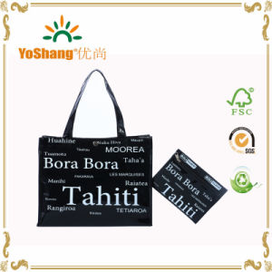 Promotional Shiny Vinyl PVC Shopping Tote Bag pictures & photos
