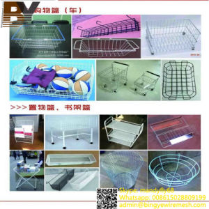 Stainless Steel Wire Mesh Deep-Processing Shelf Manufacturer pictures & photos