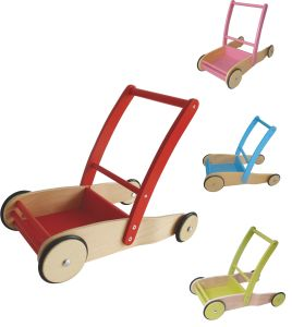 2017 Wholesale Baby Wooden Push Along Walker, New Design Toddlers Wooden Push Along Walker, Best Push Along Walker pictures & photos