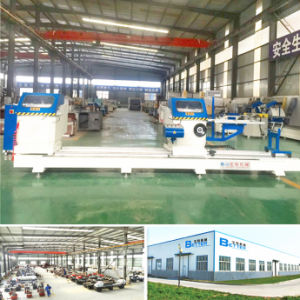 Double Head Mitre Cutting Saw Aluminum Windows Making Machine pictures & photos