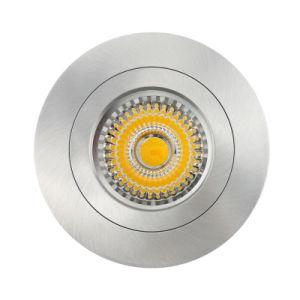 Lathe Aluminum GU10 MR16 Round Recessed Fixed LED Downlight (LT2116) pictures & photos