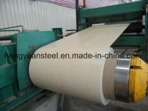 Slit Edge Z50 Wooden Type PPGI Prepainted Galvanized Steel Coil pictures & photos