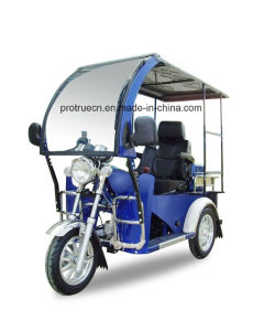 110cc 3 Wheel Motorcycle/Handicapped Tricycle with Front Glass (DTR-3) pictures & photos