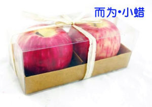 Christmas Apple Craft Candle (RC-0086)