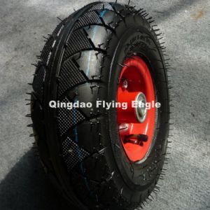 4.10/3.50-6 Pneumatic Natural Rubber Wheel pictures & photos