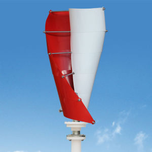 Low Start-up Wind Speed Low Noise 400W Vertical Wind Generator Wind Turbine Windmill pictures & photos