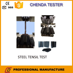 300kn Computerized Hydraulic Universal Testing Machine for Metal Sheet, Bar Screw Tensile Strength Test pictures & photos