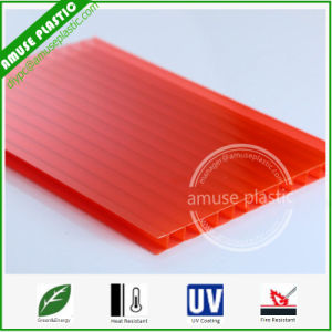 Grade a Decoration Material PC Multiwall Structure Hollow Sheet Polycarbonate pictures & photos