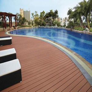 Eco-Friendly Crack-Resistant Outdoor WPC Decking with Competitive Price pictures & photos