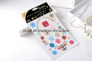 Fashionable Mixed Color Gold Tattoo Sticker as Fashion Accessories pictures & photos