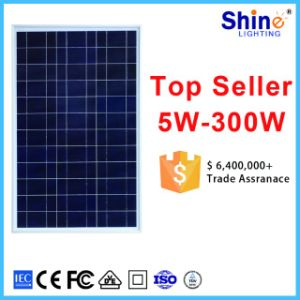 Household 60W 5W to 340W Flexible PV Solar Panel pictures & photos