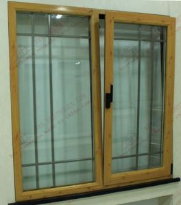 Aluminium/Aluminum Tilt and Turn Window with Built-in Shutters (BHA-CW34) pictures & photos