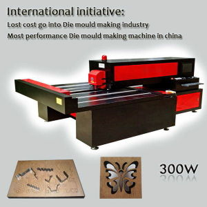 H1215 Wood Laser Die Cutting Machine with Reci S6 pictures & photos