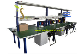 European Type Electronics Workbench Educational Equipment Vocational Training Equipment pictures & photos