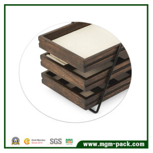 Special Treatment of Retro Paint Wooden Box pictures & photos