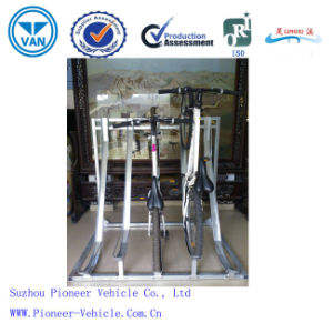High Quality Semi-Vertical Bicycle Rack (ISO Approved) pictures & photos
