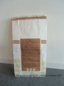 Accept Custom Order Clupak Kraft Paper Cement Bag pictures & photos