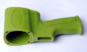 Green Plastic Injection Moulding Parts pictures & photos