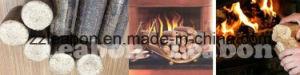Piston Press to Make Wood Briquettes Calorific Wood Briquette pictures & photos
