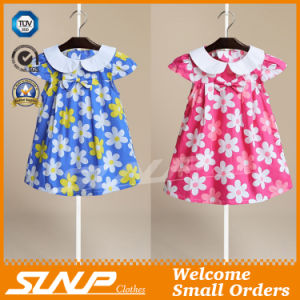 Cotton Children Clothing Girl Dress pictures & photos