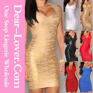 2016 Sexy Fashion Cocktail Formal Evening Prom Gown Party Bandage Dress pictures & photos