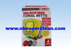 2015 Hot Sale Good Quality Microfiber Car Wash Mitt (CN1563) pictures & photos