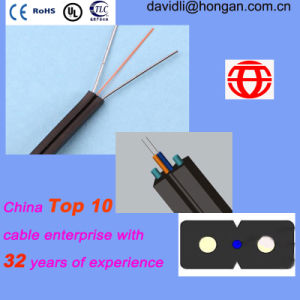 Inflaming Resistant One Core FTTH Indoor Optical Fiber Cable pictures & photos