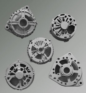 High Pressure Die Casting Aluminum Alternator Components pictures & photos