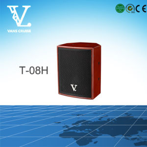 T-08h 8′′ Coaxial Mini Speaker Used in Home Theater System pictures & photos