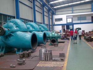 High Efficiency Single Stage Double Suction Centrifugal Pump pictures & photos