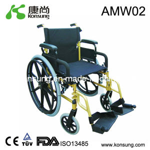 Complete Aluminum Manual Wheelchair (AMW02)