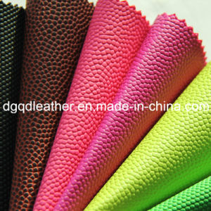 Strong Peeling & High Density Ball PVC Leather (QDL-BP0048) pictures & photos