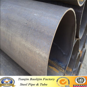 BS1139 & En39 Scaffolding ERW Carbon Black Carbon Steel Pipes/Tubes pictures & photos