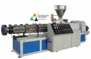 PVC Extruder/ PVC Pipe Extruder/Single Screw Extruder/Twin Screw Extruder pictures & photos
