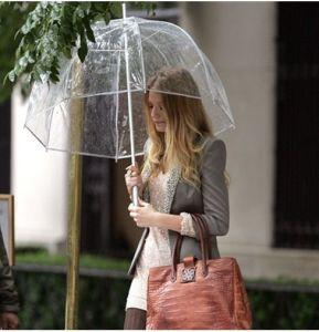 Straight Transparent Umbrella, Bubble Umbrella Poe