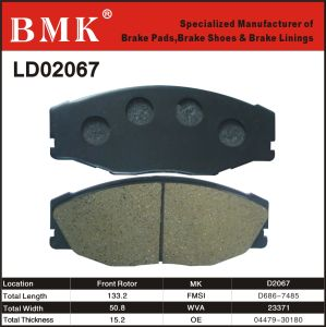 Advanced Technology Brake Pad for Toyota pictures & photos