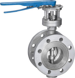 Manual Flange Butterfly Valve with Actuators pictures & photos