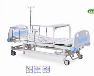 abs manual threecrank medical bed