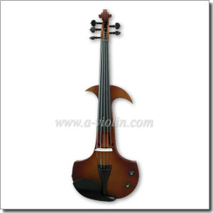5 Strings 4/4 Solidwood Colorful Electric Silent Violin (VE001-5S) pictures & photos