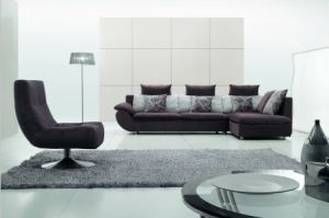 Combination Sofa/Hotel Modern Sectional Sofa/Living Room Modern Sofa/Corner Sofa/Upholstery Fabric Modern Sofa (GLMS-006) pictures & photos